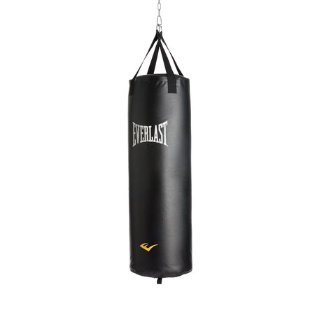 Everlast Nevatear 100 Pound Gym Kick Boxing Punching Training Heavy Bag, Black