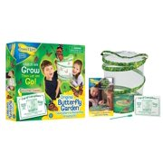 6e4076bd1c Butterfly Growing Kit Toy - Includes Voucher Coupon for 5 Live Caterpillars  to Butterflies, Pop