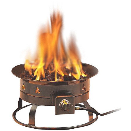 - Heininger 5995 58,000 BTU Portable Propane Outdoor Fire Pit