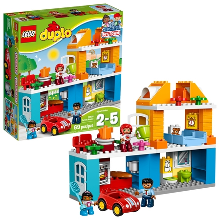 LEGO DUPLO My Town Family House 10835 Building Set (69 Pieces)](Building Toys For 7 Year Olds)
