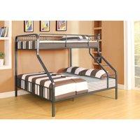 Caius Twin/Queen Bunk Bed, Gunmetal, Box 2 of 2