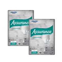 (2 Pack) Assurance Incontinence Underwear for Men, Maximum, L/XL, 36 Ct