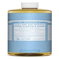 Dr. Bronner's Baby-Unscented Pure-Castile Liquid Soap - 32 oz