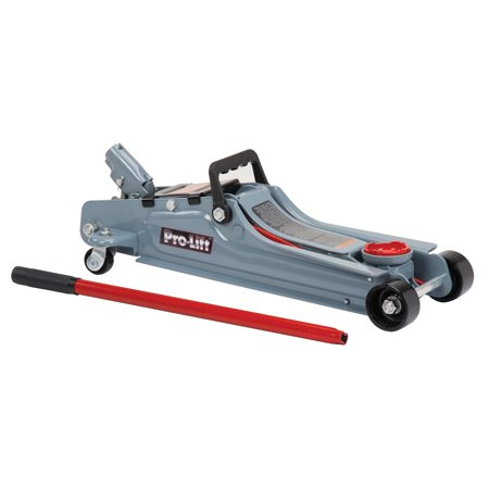 Pro-Lift F-767 Grey Low Profile Floor Jack 2 Ton Capacity ()