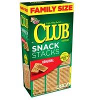 (2 Pack) Keebler Club Snack Stacks Original Crackers, 18.8 oz