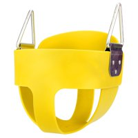 Safe Baby SwingSet Children Full Bucket Seat Swing
