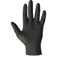 ProGuard, PGD8642S, Disposable Nitrile General Purpose Gloves, 100 / Box, Black