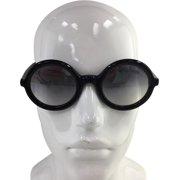 d1b61a02d8 Moncler ML 0005 01B Black Plastic Sunglasses 50mm