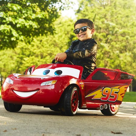 Disney Pixar Cars 3 Lightning Mcqueen 6v Battery Powered Ride On By
