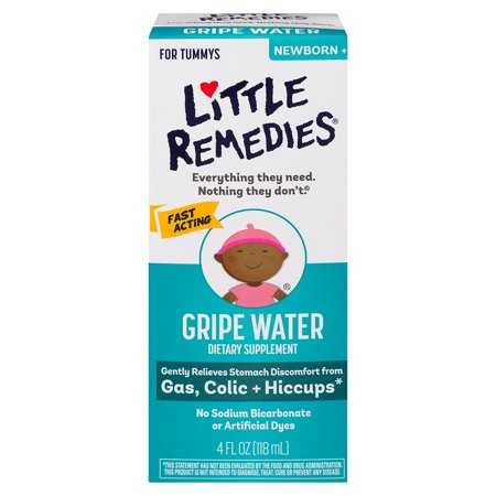 Little Remedies Gripe Water, Safe for Newborns, 4 FL (Old Medicine Remedies)