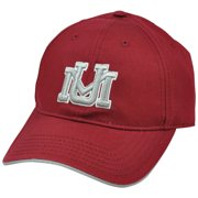 differently dc296 e5827 NCAA UM Montana Grizzlies S L Chino Semi Constructed Hat Cap Curved Bill