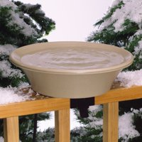 "API 14"" Heated Bird Bath with EZ-Tilt Deck Mount"