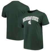 huge selection of c50c1 a1c8e Men s Russell Green Michigan State Spartans Crew Core Print T-Shirt
