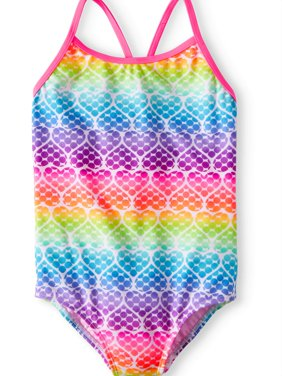 Printed One-Piece Swimsuit (Little Girls, Big Girls & Big Girls Plus)