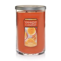 Yankee Candle Large 2-Wick Tumbler Scented Candle, Honey Clementine