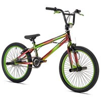 """Kent 20"""" Boys', Nightmare Bike, Green, For Ages 8-12"""