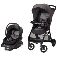 Safety 1st Smooth Ride Travel System with Infant Car Seat, Monument