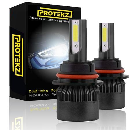 Protekz 6000K LED Fog Light Kit for 2000-2005 Chevrolet CAVALIER 880 Foglight Conversion 12000LM Led Light Bulbs (Chevrolet Cavalier Bulbs)