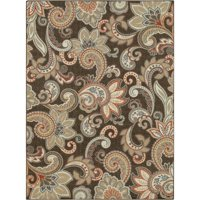Better Homes & Gardens Paisley Berber Print Area Rugs or Runner, Multiple Sizes and Colors