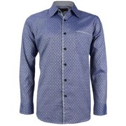 d53529d7 LW Men's Western Button Up Long Sleeve Designer Dress Shirt (LM95 #1, ...