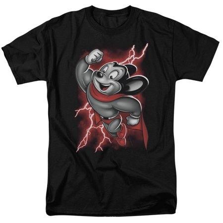 Mighty Mouse Mighty Storm Mens Short Sleeve Shirt