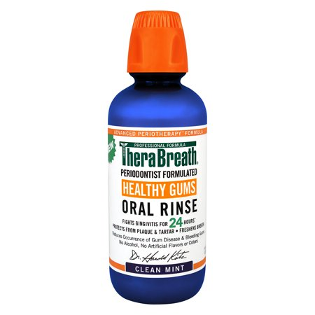 Therabreath Advanced Perio Therapy Oral Gums Rinse Mouthwash, (Gum Rinse)