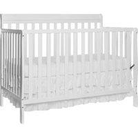 Dream On Me Alissa Convertible 4 in 1 Crib, White