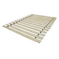 Classic Brands Heavy Duty Attached Wood Bed Support Slats/Bunkie Board