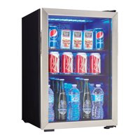 Danby 2.6 cft Beverage Center with Stainless Trim Door