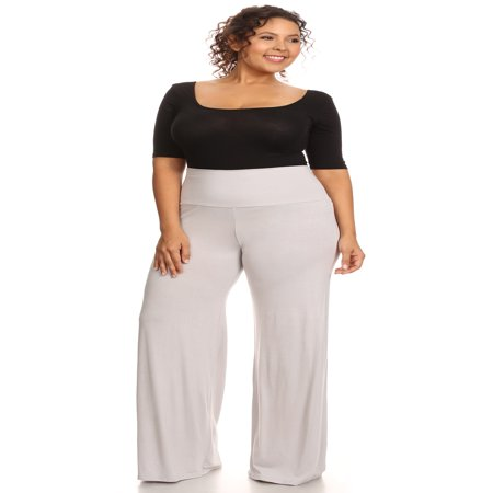 Plus Size Women's Palazzo Pants Hight Waisted Made in the USA](Parachute Pants In The 80s)