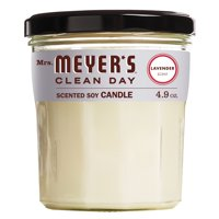 Mrs. Meyer's Clean Day Scented Soy Candle, Lavender, Candle, 4.9 ounce