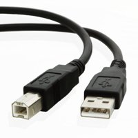 6ft USB Cable for HP ENVY 5530 5-All-in-One Inkjet Printer