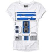 7fc9e3d6 R2D2 R2-D2 Droid Costume Funny Humor Pun Adult Women's Juniors Slim Fit  Graphic Tee