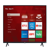 "TCL 49"" Class HD (720P) Roku Smart LED TV (49S325)"
