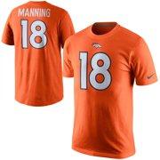 84587b83 Peyton Manning Denver Broncos Nike Player Name & Number T-Shirt - Orange