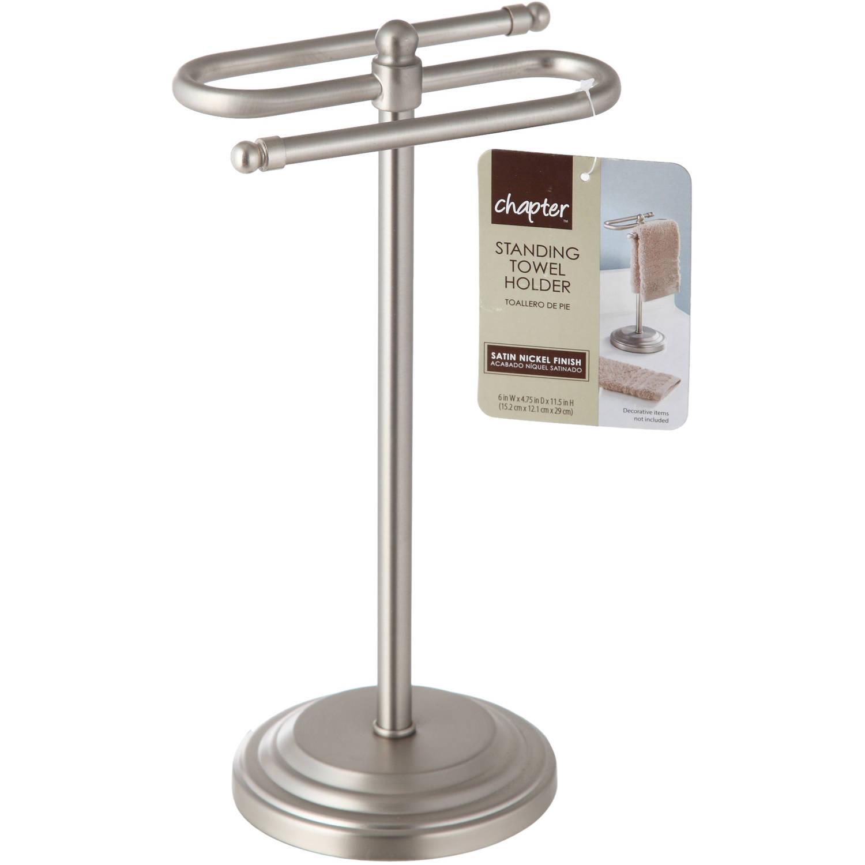 Dodatki I Tekstylia Lazienkowe Satin Nickel Free Standing Bathroom