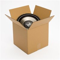 12L x 12W x 12H in., Recycled Kraft Shipping Boxes, 25 count