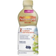(3 pack) Nutramigen Hypoallergenic Baby Formula, Ready to Use, 32 fl oz Bottle