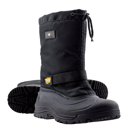 ArcticShield Mens Cold Weather Waterproof Durable Insulated Tall Winter Snow - Furry Winter Boots