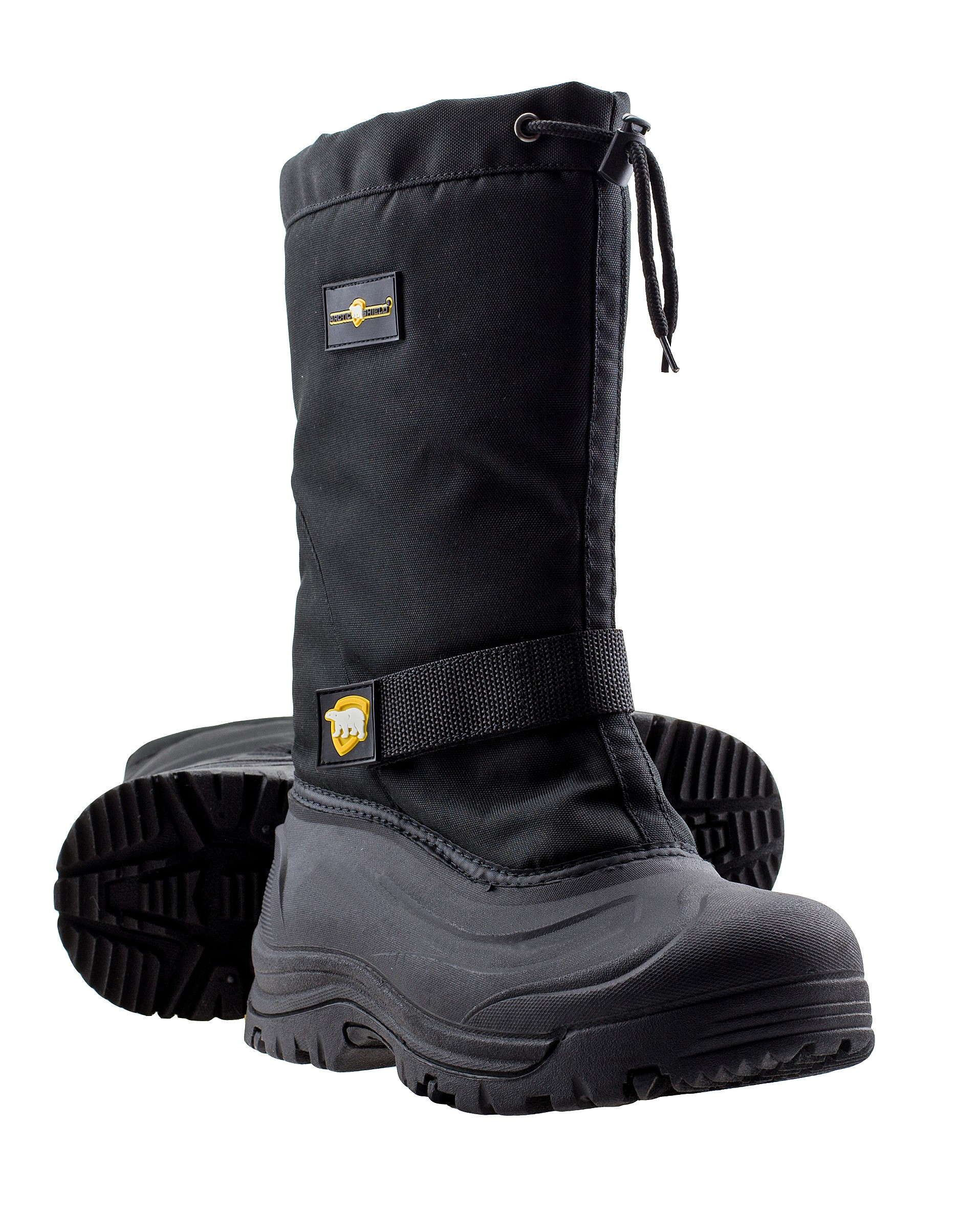 ArcticShield Mens Cold Weather Waterproof Durable Insulated Tall Winter Snow Boots Men\u0027s