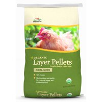 Manna Pro Poultry Organic Layer Chicken Feed, 30 lbs.