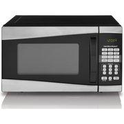 Hamilton Beach 0.9 Cu. Ft. 900W Microwave, Stainless Steel