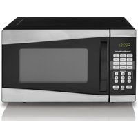 Hamilton Beach 0.9 Cu. Ft. 900W Microwave, Stainless Steel