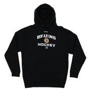 32dec695b Reebok NHL Men s Boston Bruins Logo Crest Basic Pullover Fleece Hoodie