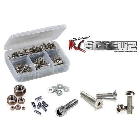 RC Screwz Stainless Steel Screw Kit for Tamiya King BlackFoot #tam102