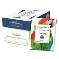 Hammermill Premium Color Copy Paper, 100 Bright, 28lb, Letter, Photo White, 500 Sheets/Ream -HAM102467