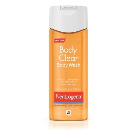 Neutrogena Body Body Wash (Neutrogena Body Clear Acne Body Wash with Glycerin, 8.5 fl. oz)