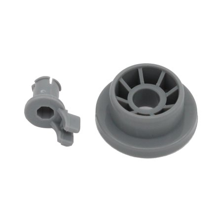 165314 Dishwasher Lower Dishrack Wheel Replacement for Bosch SHX56B05 UC/14 (FD 8211-) Dishwasher - Compatible with 00165314 Lower Rack Roller - UpStart Components Brand - image 3 de 4