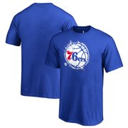 ce27b8ab508 Philadelphia 76ers Fanatics Branded Youth Splatter Logo T-Shirt - Royal