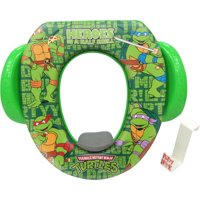 """Nickelodeon TMNT """"Half Shell Turtles"""" Soft Potty Seat with Hook"""
